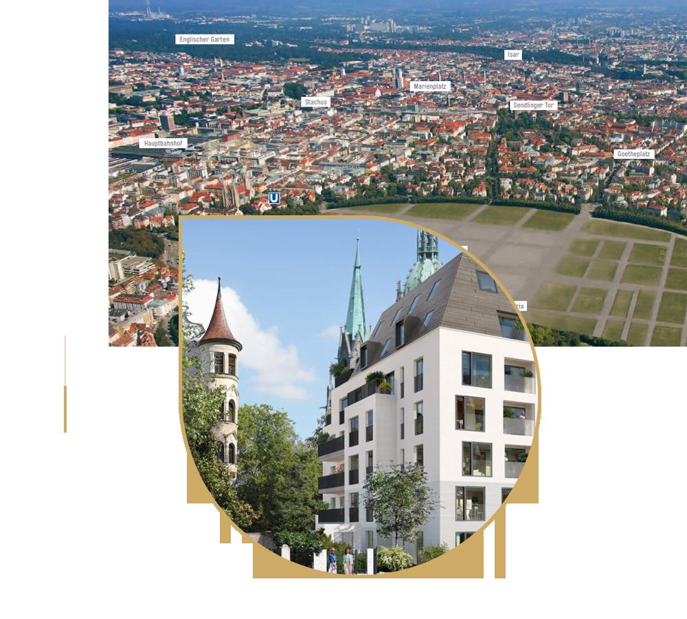 Lage Bavaria Penthouses